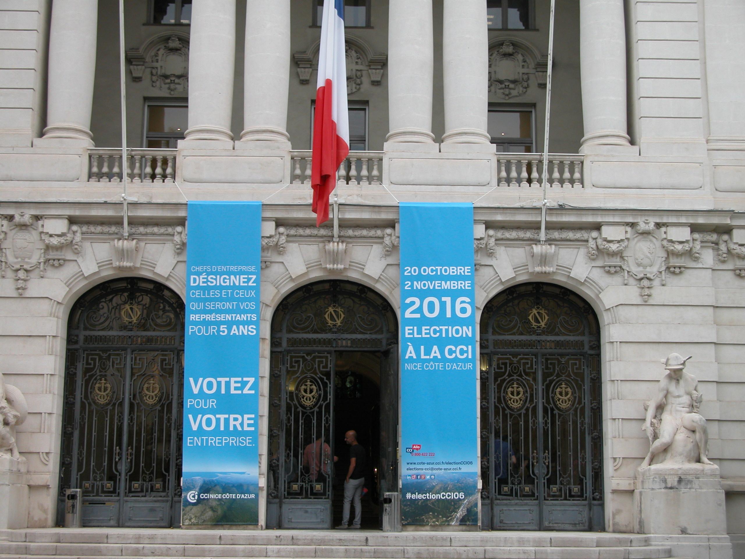 Economie elections de la cci nice c te d 39 azur les - Chambre de commerce et d industrie nice ...