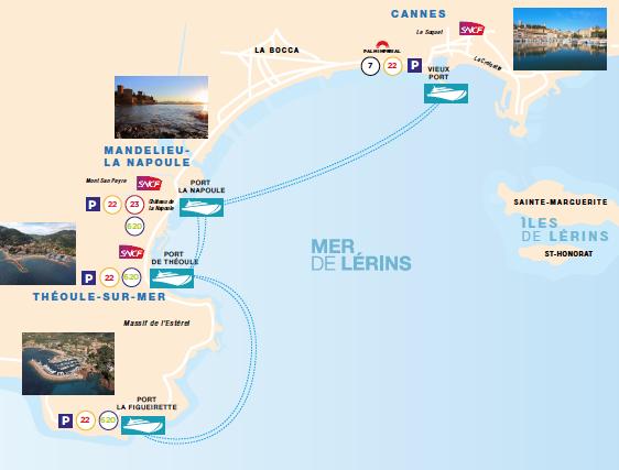 Vie locale cannes th oule sur mer par la mer c est - Office de tourisme mandelieu la napoule ...