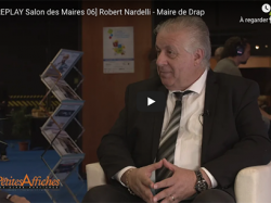 [REPLAY Salon des Maires 06] Robert Nardelli - Maire de Drap
