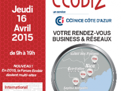 BUSINESS & RESEAUX », un RDV multi-sites pour le 7eme FORUM ECOBIZ le 16 avril