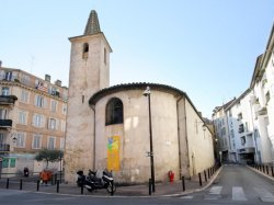 CANNES : Travaux de restauration de la chapelle de la Miséricorde