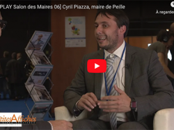 [REPLAY Salon des Maires 06] Cyril Piazza, maire de Peille