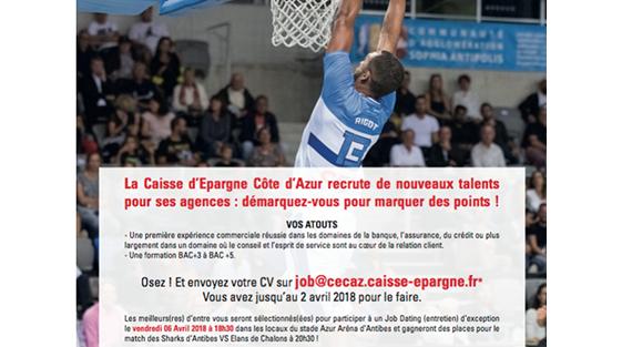Finance La Caisse D Epargne Cote D Azur Recrute De Nouveaux