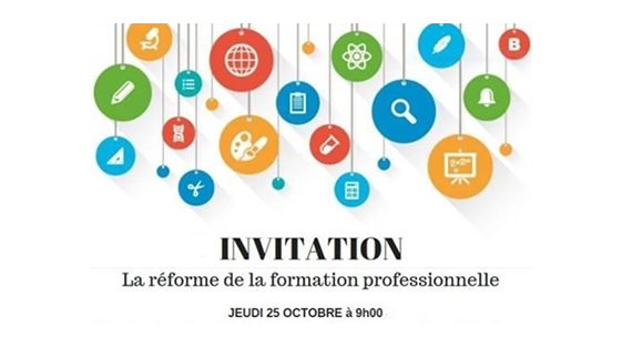 ceeffab54a6 L UPE06 organise une (...) La réforme de la formation professionnelle ...