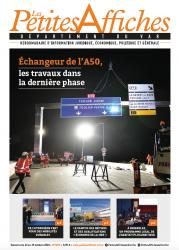 Une de la semaine des Petites Affiches des Alpes Maritimes
